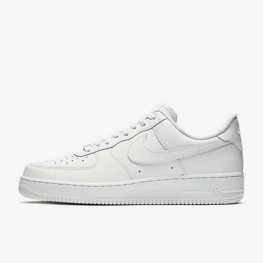 Chaussures Nike Air Force 1 07 Pas Cher Low Blanche Femme Homme