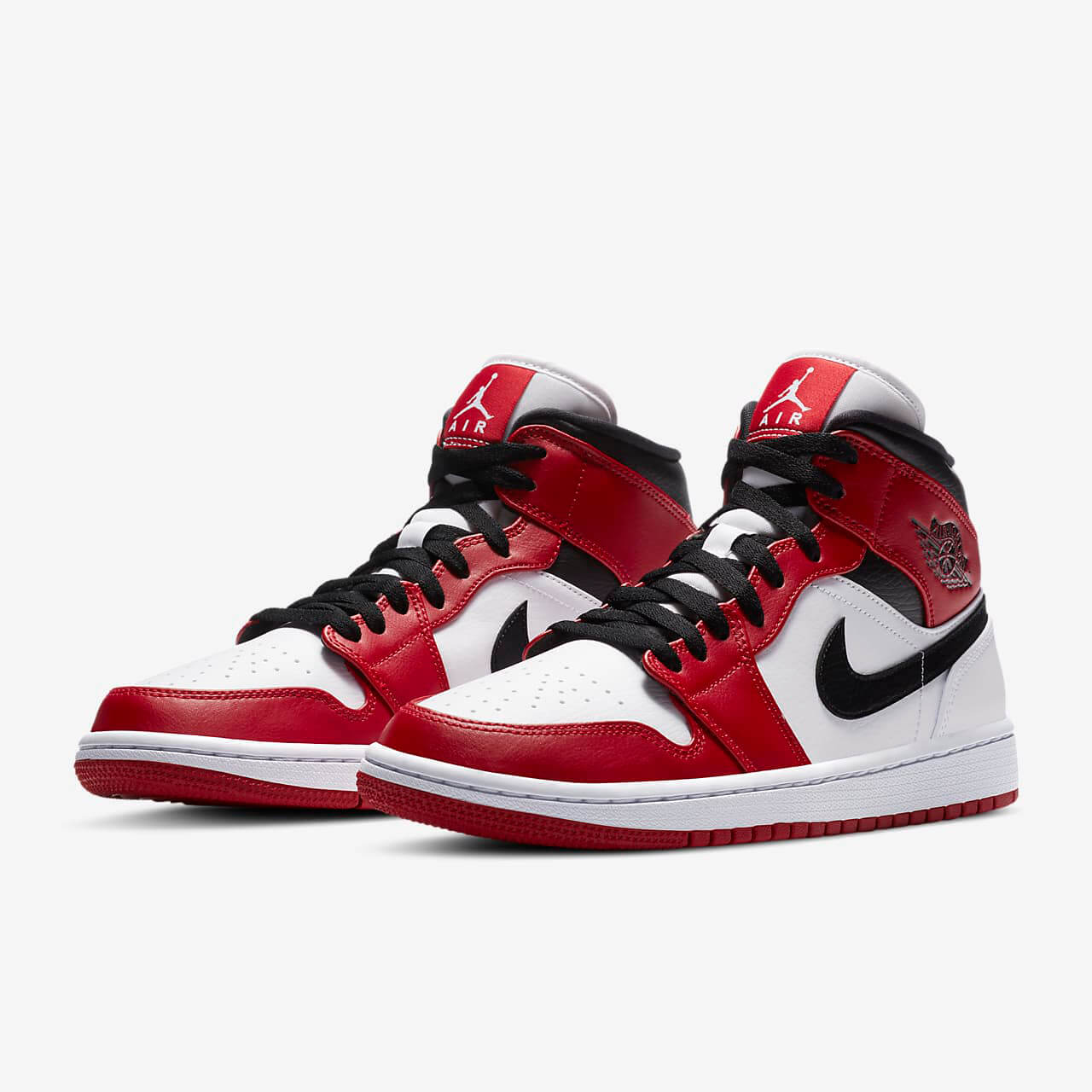 Chaussures Nike Air Jordan 1 Mid Chicago 2020 France
