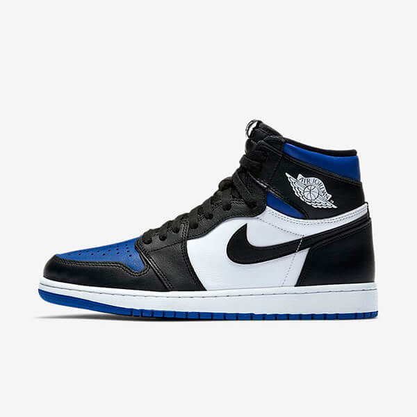 Chaussures Nike Air Jordan 1 Retro High Royal Toe France