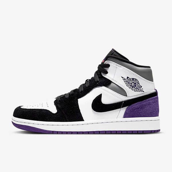 Chaussures Nike Air Jordan 1 Mid Se Purple France