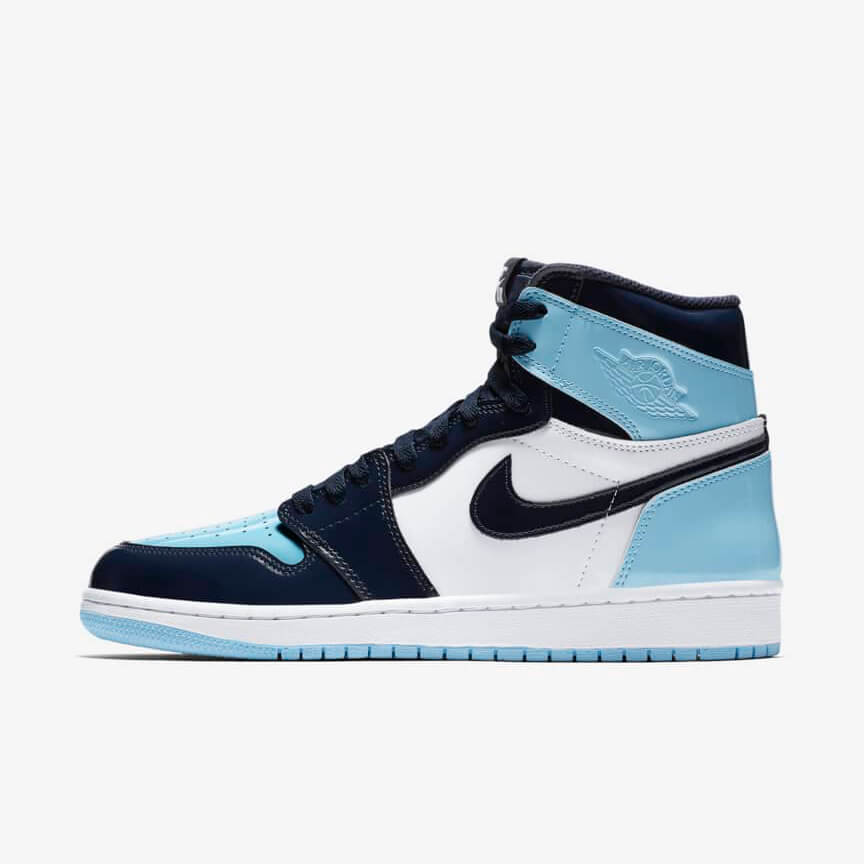 Chaussures Nike Air Jordan 1 Retro High Unc Patent France