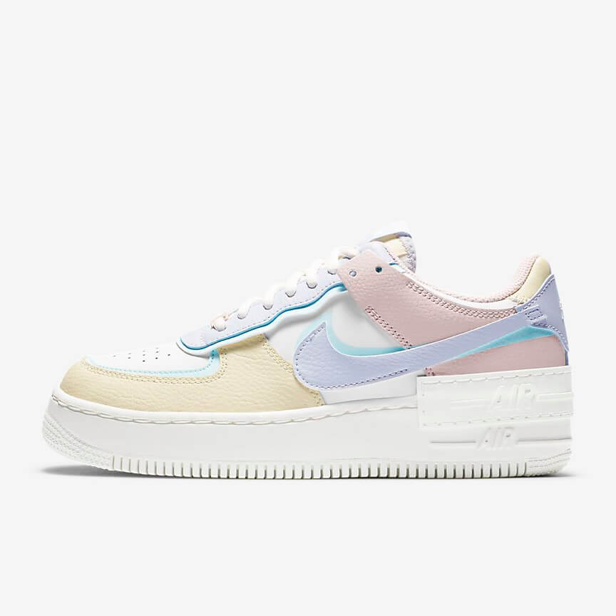Chaussures Nike Air Force 1 Shadow White Glacier Blue Ghost France