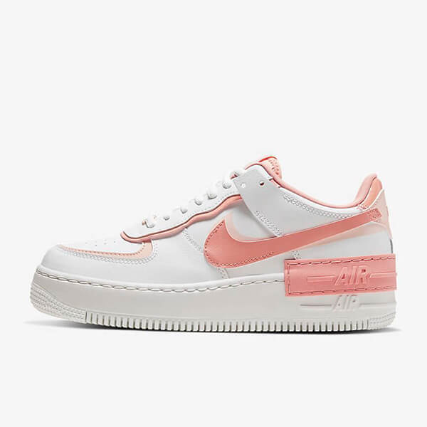 Chaussures Nike Air Force 1 Shadow White Coral Pink France